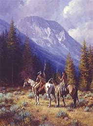 Native American Landscape Paintings