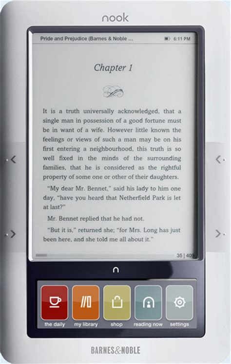 barnes noble nook barnes and noble nook review review