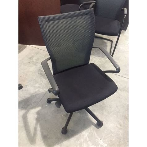haworth x99 task chair with loop arms