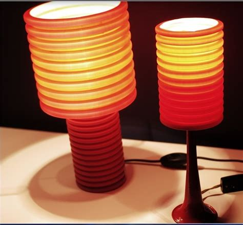 creative lampshades recycled tube recycle corrugated
