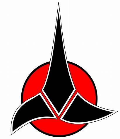 Trek Klingon Svg Clipart Insignia Wikipedia Starfleet
