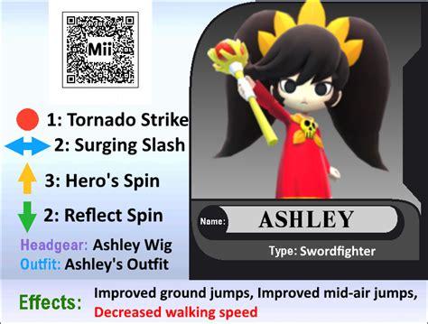 Ashley (mii Qr Code) By Apocalypsewii On Deviantart