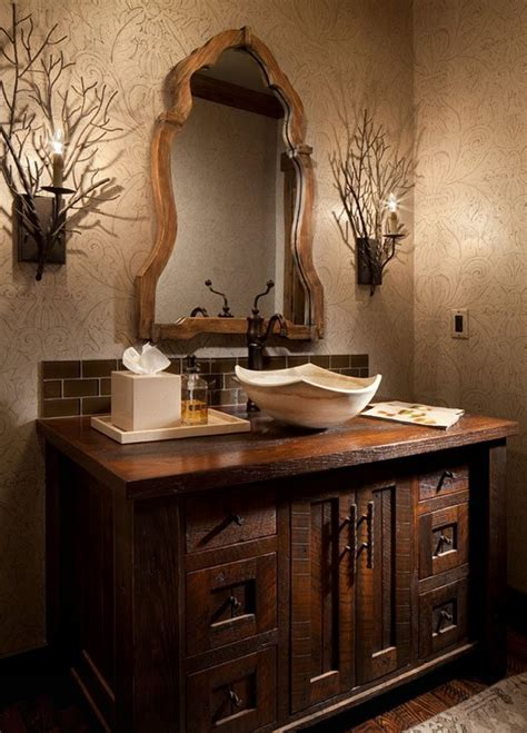 26 impressive ideas of rustic bathroom vanity home