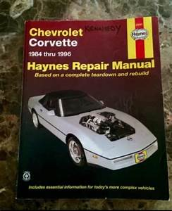C4 Service Manual  U0026 Other Books For Sale