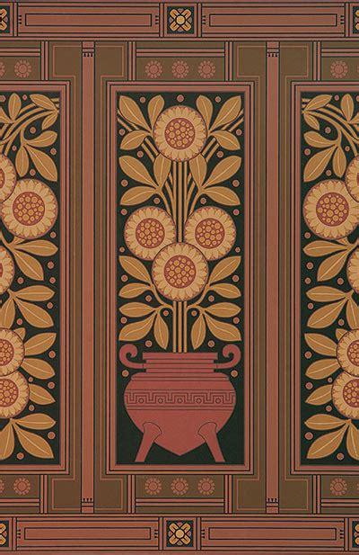 bradbury victorian floral design wallpaper herter