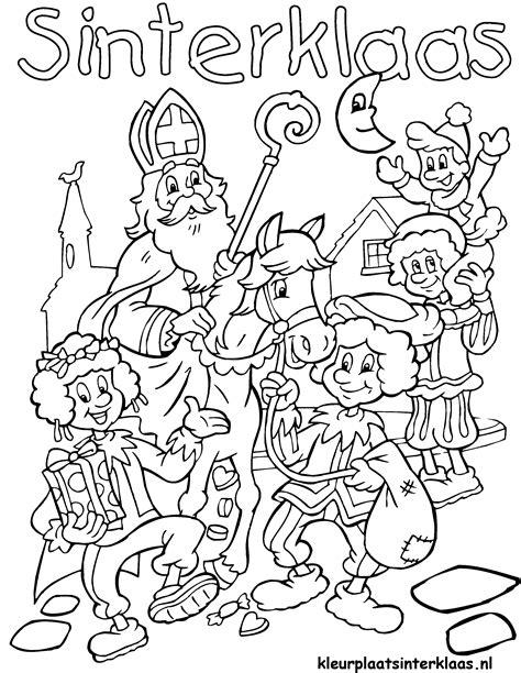 Sinterklaas Kleurplaat 2014 by Rijmen Op Kleurplaat Obs Berg Groep1 2 Obsberggroep1 2