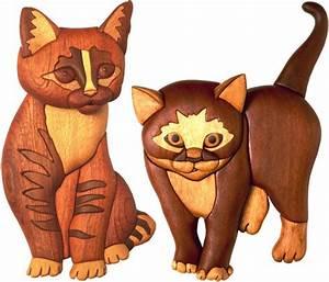 Kittens Intarsia Pattern