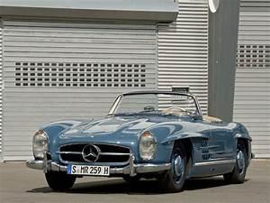 Mercedes Portes Papillon : la mercedes benz 300 sl accueille en 1958 un roadster qui abandonne les portes papillons dot ~ Medecine-chirurgie-esthetiques.com Avis de Voitures