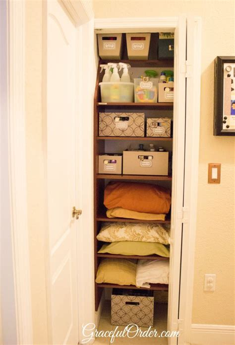 linen closet organization ideas for the home