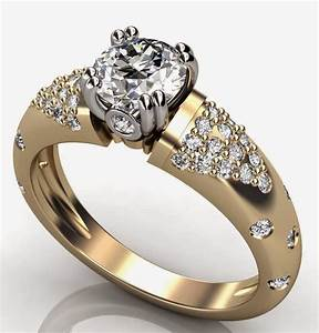 womens diamond thick wedding rings gold design With women gold wedding rings