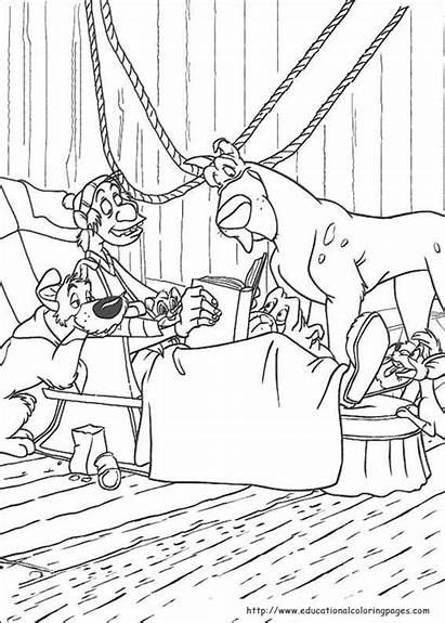 Oliver Company Coloring Pages Printable