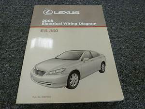 2008 Lexus Es 350 Sedan Electrical Wiring Diagram Manual 3