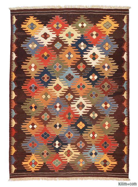 area rug patterns k0005789 multicolor kilim rug