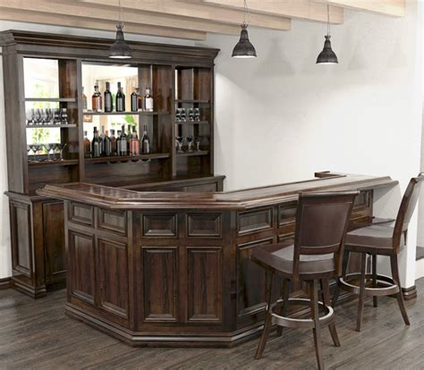 At Home Bar by Custom Home Bars