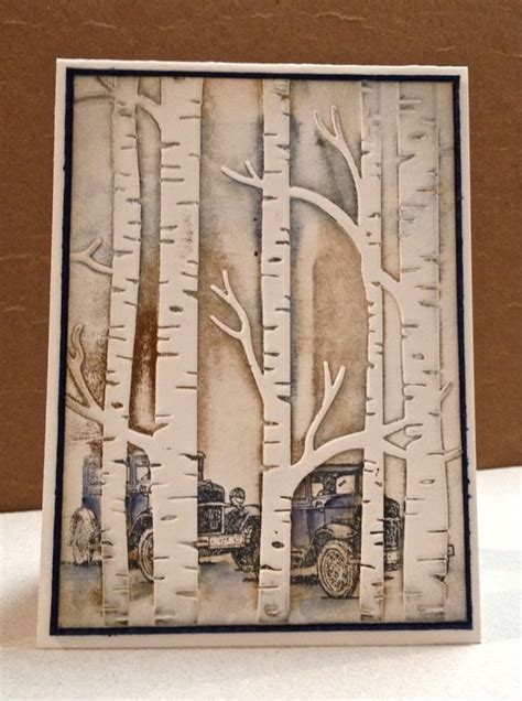 distinktive stamping designs woodland cars embossing