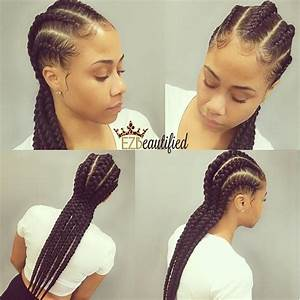 5 GORG NATURALLY ROOTED Waist Length Banana Braids For