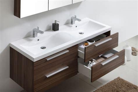 Badmöbel-set R1440 Basic Walnuss (ohne Spiegelschrank