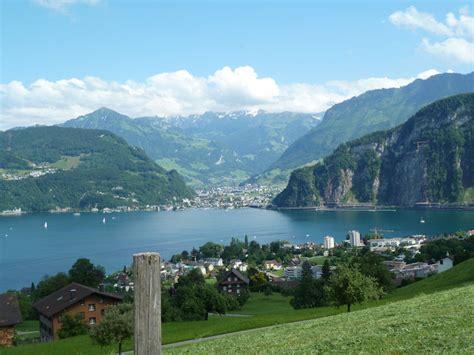Hergiswil To Lucerne By Boat by Lucerne Switzerland 2011