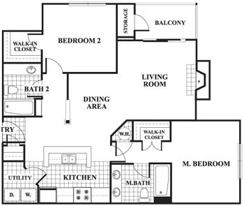 Luxury Apartment Floor Plans 3 Bedroom Autumn Woods Luxury Pet Friendly Apartments In Raleigh