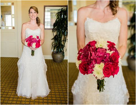 Preppy Pink And Blue Wedding
