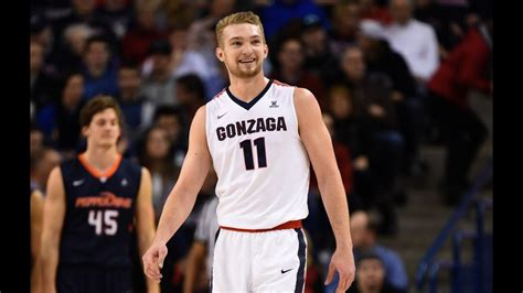 domantas sabonis gonzaga highlights  youtube