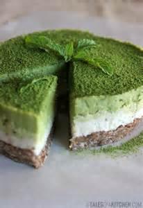 Matcha Coconut Mint Cake