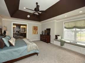 Tray Ceiling Lighting Options by Angled Tray Ceiling In Master Bedroom 3 Pillar Homes