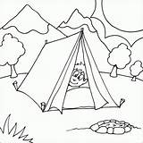 Coloring Camping Pages Tent Boy Colouring Printable Nature Scene Fire Fun Sheets Camper Peaking Pit Head Tents Bestcoloringpagesforkids Preschool Park sketch template