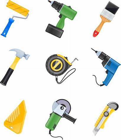 Tools Construction Vector Icon Building Tool Material