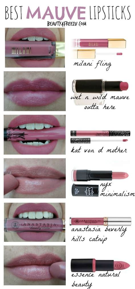 only best 25 ideas about mauve lipstick on