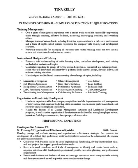 Sle Resume Call Center by Sle Call Center Resume 8 Exles In Word Pdf