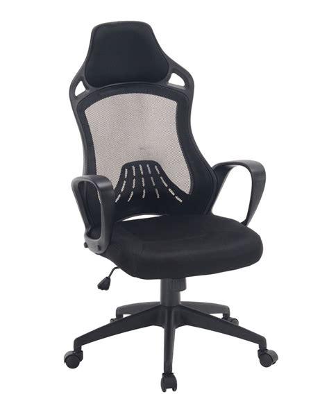 fauteuil bureau sport log chaise de bureau sport haut dossier kayelles com