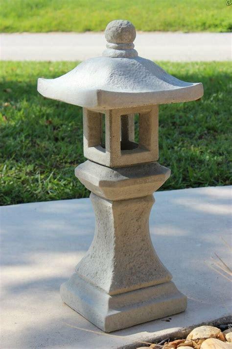 japanese yard decor pagoda concrete lantern japanese garden yard