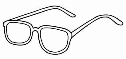 Coloring Pages Eyeglasses Vision Improve