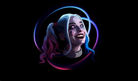 Harley Quinn Animated Wallpaper - wallpaper harley quinn minimal artwork black hd
