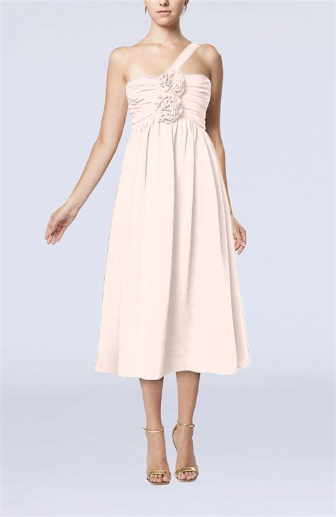 light pink dress for wedding guest light pink casual one shoulder sleeveless chiffon pleated
