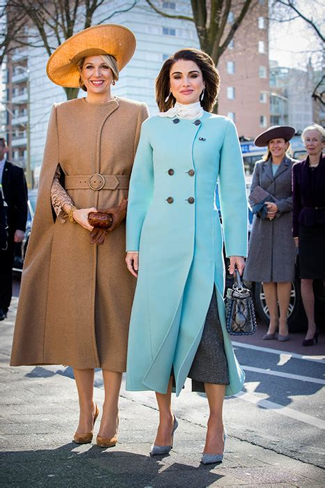 Queen Rania Maxima Show Off Their Best Dresses