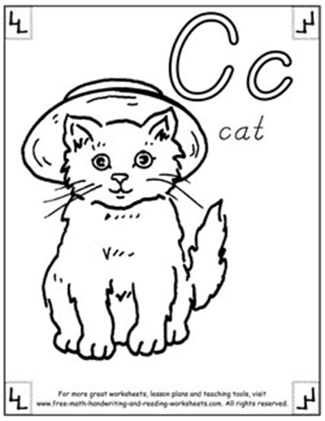 alphabet coloring pages letters pictures words