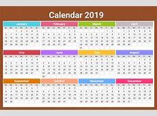 2019 Ka Calendar hd wallpaper 2018