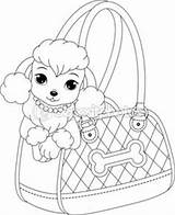 Poodle Outline Printable Template Stencils Creating Crafts Coloring Pattern sketch template