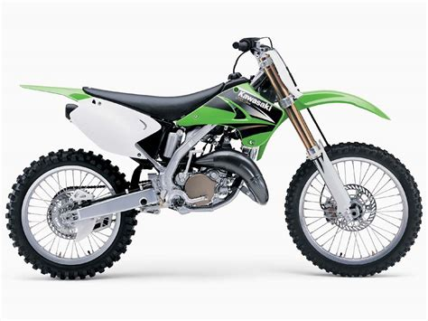 Kawasaki 125 Dirt Bike