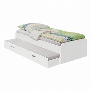 Bett Weiß 90x200 Ausziehbar : tandembett 90x200 cm wei ebay ~ Indierocktalk.com Haus und Dekorationen