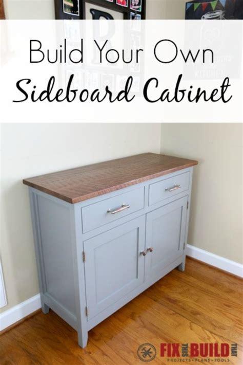 Diy Sideboard by 34 Diy Sideboards