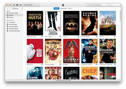 Movies Anywhere Itunes Many App Film Titles