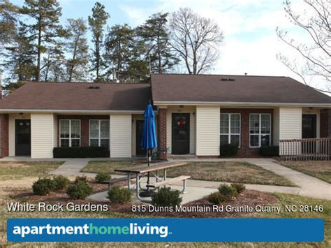 white rock gardens apartments granite quarry nc
