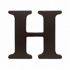 kidslinetm espresso wooden letter quothquot bed bath beyond With letter h decor