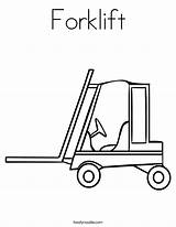 Forklift Coloring Truck Worksheet Cement Mixer Drawing Tow Pages Template Trucks Outline Twistynoodle Noodle Printable Twisty Concrete Getdrawings Terms Print sketch template