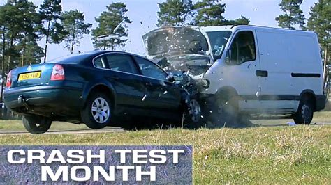 test crash siege auto crash test month vs car funnycat tv