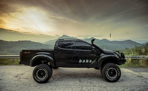 Isuzu D Max Modification by This Modified Isuzu D Max V Cross Will Almost