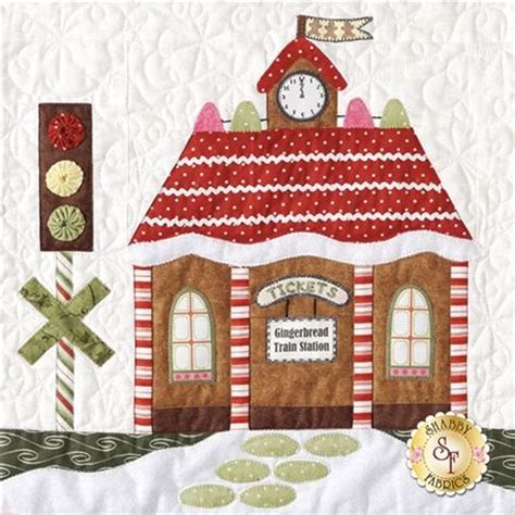 shabby fabrics gingerbread 17 best images about stitching houses buildings on pinterest color change quilt and sweet home